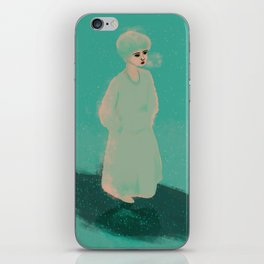 Lovely Lady III iPhone Skin