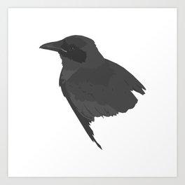 Le corbeau Art Print