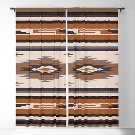 American Native Pattern No. 144 Blackout Curtain