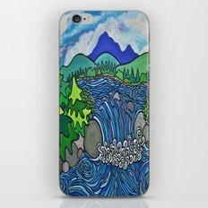 Wild River Kingdom iPhone & iPod Skin