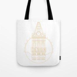 Oakland is Design (Gold) Tote Bag