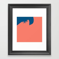 Watching You Framed Art Print
