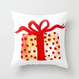 Watercolor Lovely Gift Throw Pillow