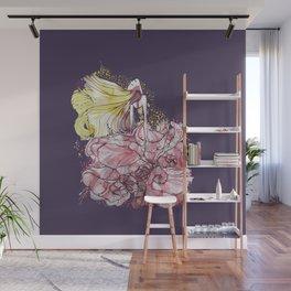 Flowergirl Wall Mural