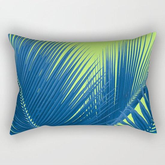 Let's Go Lime Rectangular Pillow