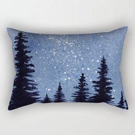 Starry Pines Rectangular Pillow