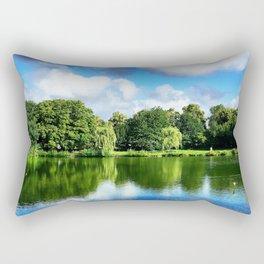 Clear & Blurry  Rectangular Pillow