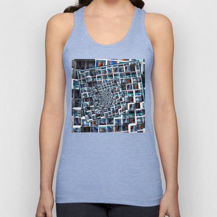 Abstract Infinity Unisex Tank Top