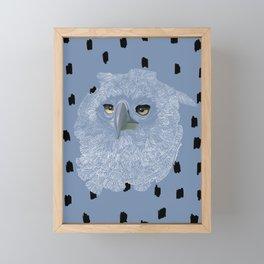 Eagle Eyes Framed Mini Art Print