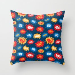 Action Packed! Throw Pillow