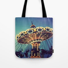 Blue Hour at the Carnival Tote Bag