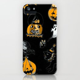 A Vintage Halloween iPhone Case