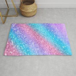 Rainbow Princess Glitter #2 #shiny #decor #art #society6 Rug