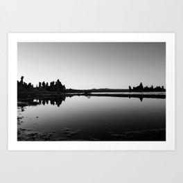 Mono Lake Art Print