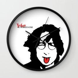 John Tongue Art Wall Clock