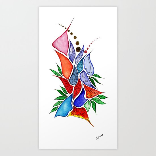 Flower6 Art Print