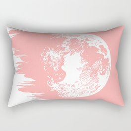 Lunar Lady Rectangular Pillow