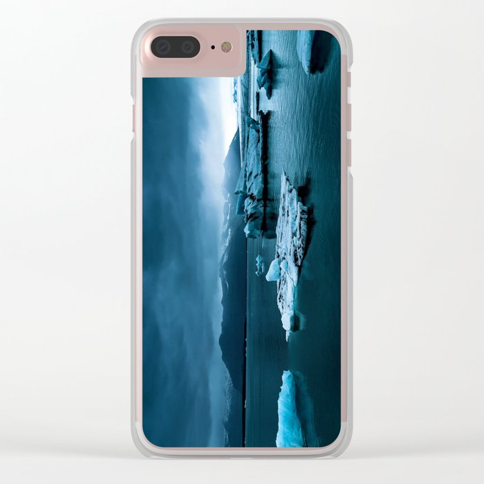 Blistering Cold Clear iPhone Case