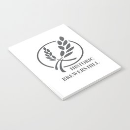 Brewers Hill Sign Black Notebook