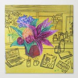 Supermarket Flowers Canvas Print