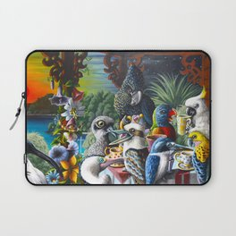 Chit-Chat On The Island Laptop Sleeve