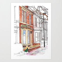 Dilston Road Art Print