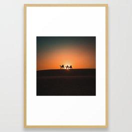 Sam Sam Sand Dunes Framed Art Print