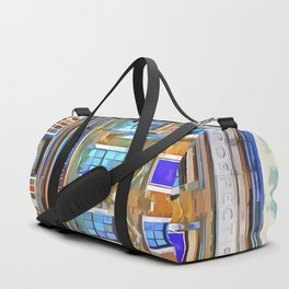 The Prospect Of Whitby Pub Pop Art Duffle Bag