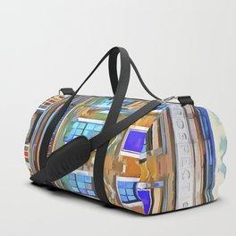 The Prospect Of Whitby Pub Pop Art Duffle Bag