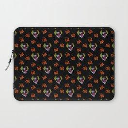 Halloween Horrorclown Pattern Laptop Sleeve