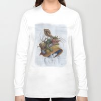 hat Long Sleeve T-shirts featuring Hat by Veronica Casas
