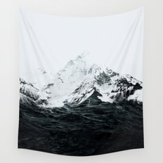 Those waves were like mountains Wall Tapestry