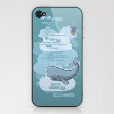 Petunia & Whale iPhone & iPod Skin