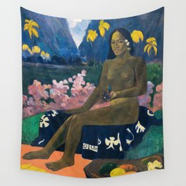 The Seed of the Areoi by Paul Gauguin Wall Tapestry