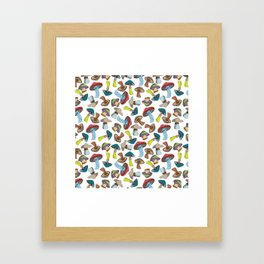 Mushroom Dreams Framed Art Print
