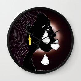 2013 A Tear For the Nubian  Wall Clock