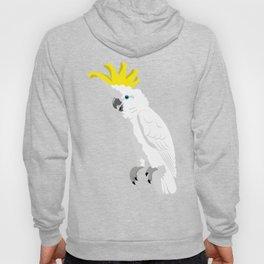 Sulphur-crested cockatoo Hoody