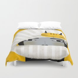 HAT SCARF COMBO Duvet Cover