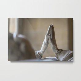 The Prayer (c) Metal Print