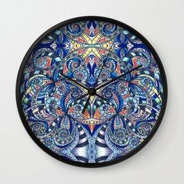 Drawing Floral Zentangle G7B Wall Clock