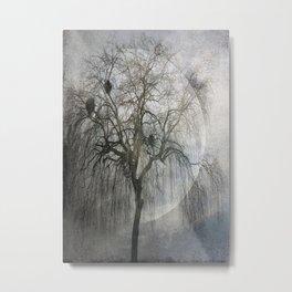 Mooonlight Shadows Metal Print