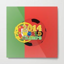 2014 World Champs Ball - Portugal Metal Print