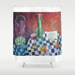 Meeting of the Spirits Shower Curtain