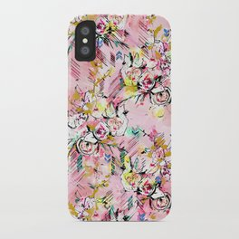 FLORAL ARROW iPhone Case