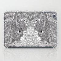 donkey iPad Cases featuring Donkey by Olya Goloveshkina