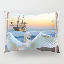 In the sunset beach c Pillow Sham