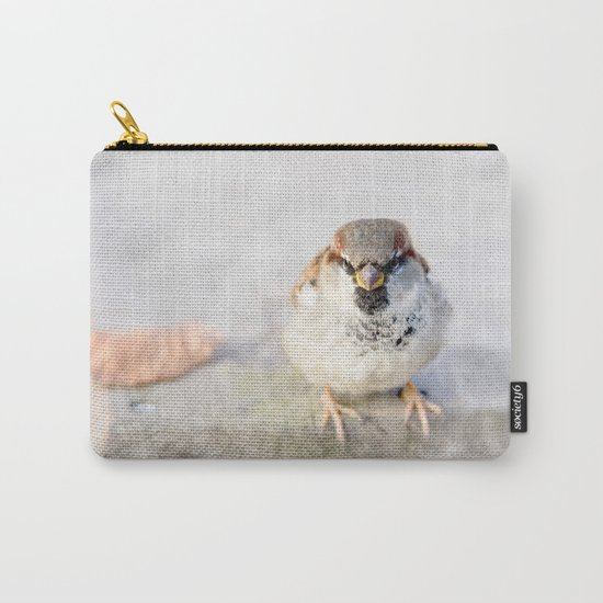 Don't Mess With Sparrows Carry-All Pouch
