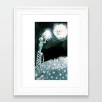 coldplay Framed Art Prints featuring lights will guide you home... by meme