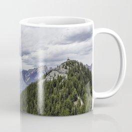 Banff National Park Landscape Panorama Coffee Mug