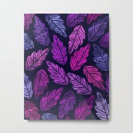 Colorful leaves III Metal Print